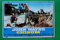 T09 Fotobusta Chisum John Wayne Ben Johnson Forrest Tucker Bruce Cabot 3