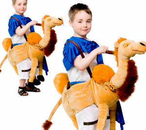 Camel Fancy Dress Ride On Pantomime Novelty Kids Arab Fancy Dress Outfit