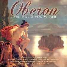 CD Oberon de Carl Maria von weber gesamtaufn. Joseph Keilberth, Leonie rys 2cds