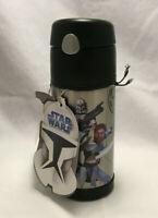 Star Wars The Clone Wars Thermos Funtainer Beverage Bottle - Jedi, Anakin, Yoda