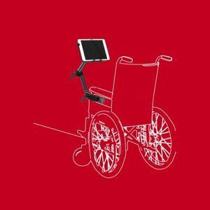 Rollstuhl Bett Büro Schreibtisch Halterung Tablet iPad 10-13 Zoll Schraubklemme