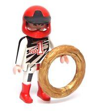 Playmobil Figure Mystery Series 10 Asian Race Car Driver Helmet Wreath 6840 NEW
