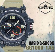 Casio G-Shock Master of G Mudmaster Series Twin Sensor Watch GG1000-1A5