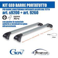 s9200+9260 GEO BARRE ARGENTO  PER BARRE LONG INTEGRATE ATTACCATE AL TETTO