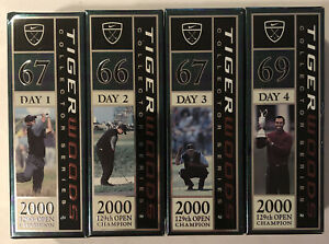 TIGER WOODS COLLECTOR SERIES 2 of 4 2000 129th Open Champion Nike Golf Balls Tin