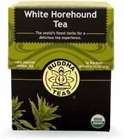 White Horehound Tea by Buddha Teas, 18 tea bag 1 pack