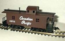 HO SCALE TRAINS MODEL POWER CANADIAN PACIFIC WOOD CABOOSE