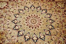 Fine Pesan Tabrez Design Round Rug 10' Diameter Very Rare Colors Handwoven Rug
