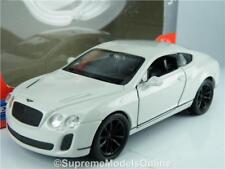 BENTLEY CONTINENTAL SUPER SPORTS MODEL CAR 1:36-1:38 SCALE WELLY NEX COUPE K8