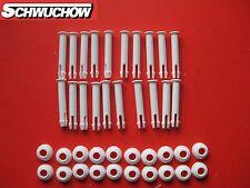 Intex 20 Stück Stift + Gummiring Splint Pin Frame Pool 305 366 457 549 6 cm 60mm