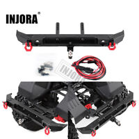 Metal Rear Bumper with D-rings for 1/10 RC Crawler Car Axial SCX10 III AXI03007