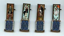 Disney Disneyland Haunted Mansion Stretching Portraits Slider Full Le Pin Set