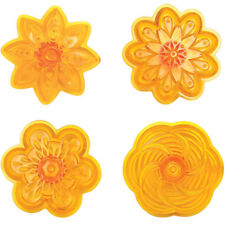 JEM Cup Cake Icing Cutter Cut Out Sugarcraft Fantasy Cupcake Tops #2 - Set of 4