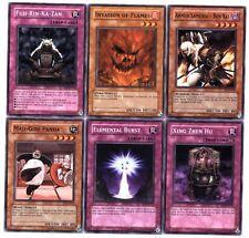 Ω YUGIOH Ω Lot de 6 Belles Cartes Lot N° YT 50