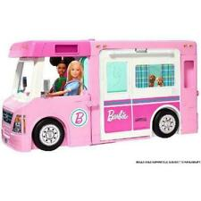 Barbie 3-in-1 DreamCamper Vehicle With Pool & Accessories (GHL93)