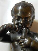 L'ENFANT A L'OISEAU fin XVIIIè