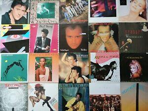 Vinyl LP Records Job Lot (80's)