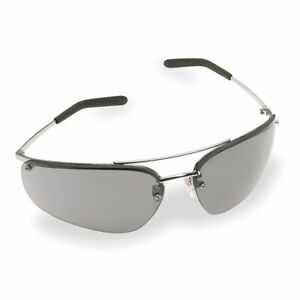 3M Metaliks Safety Glasses with Gray Anti-Fog Lens ANSI Z87.1 Certified