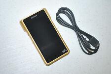 Sony Walkman Gold 256GB Hi-Res DAC Signature Digital Media Player NWWM1Z NW-WM1Z