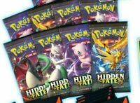 HIDDEN FATES BOOSTER PACKS - SM11.5 - Pokemon TCG - FAST DOMESTIC SHIPPING