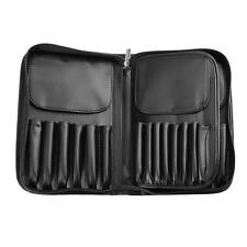 29 Pockets Black Beauty Make up Nail Tech Cosmetic Box Vanity Case Organizer