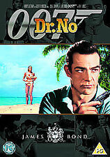 DR DOCTOR NO DVD JAMES BOND 007 REMASTERED EDITION Sean Connery New UK