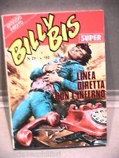 SUPER BILLY BIS Editrice Universo 1972 N 25 Fumetti Narrativa per Ragazzi di e