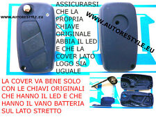 CHIAVE COVER TELECOMANDO FIAT STILO IDEA DUCATO BRAVO DOBLO NEW BLU - NoLogo