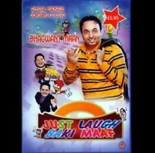 BHAGWANT MAAN - JUST LAUGH BAKI MAAF - DVD + CD - FREE UK POST