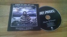 CD Metal Holy Moses-Master of disastro (5) canzone PROMO Century Media CB