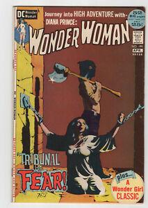 WONDER WOMAN #199 March/April 1972  Jeff Jones Bondage Cover VF/NM