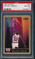 PSA 10 MICHAEL JORDAN 1990-91 90-91 Skybox #41 Chicago Bulls HOF GOAT GEM MINT