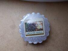Yankee Candle USA Rare Lavender Vanilla Wax Tart