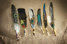 1 Smudge Feather Native American made by Tom Gray Elk Rael Ceremonial Feather