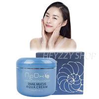 Snail Mucus Aqua Cream Moisturizing Anti-Aging Wrinkle Care 100g Korean Cosmetic