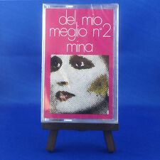 MINA : Del Mio Meglio No.2 (OUT OF PRINT EXTREMELY RARE ITALIAN CASSETTE)