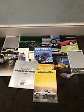 Job Lot Car Brochures VGC 1980s 1990s Clean