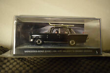 JAMES BOND CARS COLLECTION 078 MERCEDES 220S ON HER MAJESTYS SERVICE