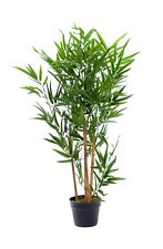 Best Artificial 3ft Potted Bamboo Plant Tree Tropical Office Conservatory New