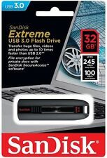 SanDisk 32GB EXTREME Cruzer USB 3.0 Fast Flash Memory Pen Drive SDCZ80-032G-G46