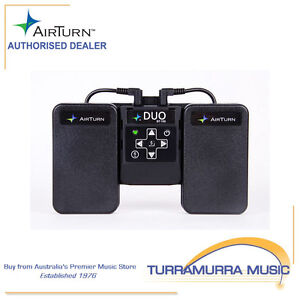 Airturn Duo - Bluetooth Page Turner Pedal Board