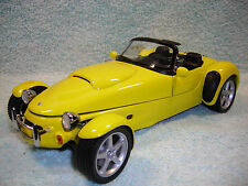 1/18 SCALE 1998 PANOZ AIV V-8 ROADSTER IN BRIGHT YELLOW BY AUTO ART NO BOX.