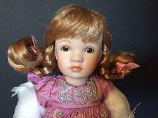 "Edwina, 8"" porcelain Paulinettes doll, by Pauline, LE of 200"