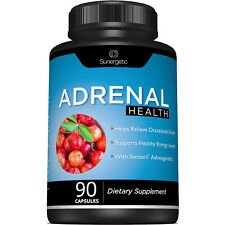 Adrenal Support Supplement - Supports Healthy Adrenal Function-90 Capsules