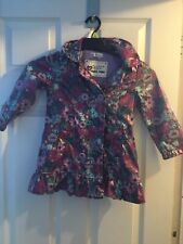 Girls M&S Autograph Hooded Jacket Coat Aged 3-4 Years