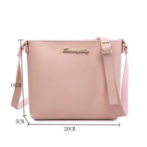 Crossbody Bag Messenger Bags Handbag Women's Ladies Female Zipper Shoulder Bags