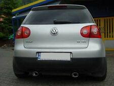 DUPLEX Sportauspuff Ulter Sport VW Golf 5 V TOP SOUND+OPTIK - Sofort ab Lager
