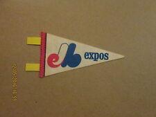 MLB Montreal Expos Vintage Defunct Circa 1970's Mini Baseball Pennant
