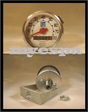 Vespa Tachometer Speedo Ø 48mm Tacho 80 km/h Speedo V50 50S 90 S N Special Ciao