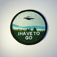 Embroidery Flying Saucer UFO Sew Iron On Patch Badge Bag Hat Cap Jeans Applique